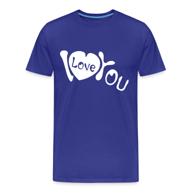 I heart you Men's Heavyweight T-Shirt