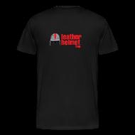 T-Shirts ~ Men's Premium T-Shirt ~ LeatherHeads Black - 3X or 4X