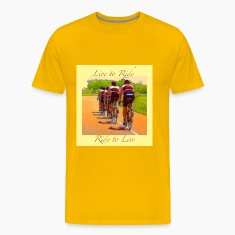 Cycling T Shirt - Live to Ride - Ride to Live