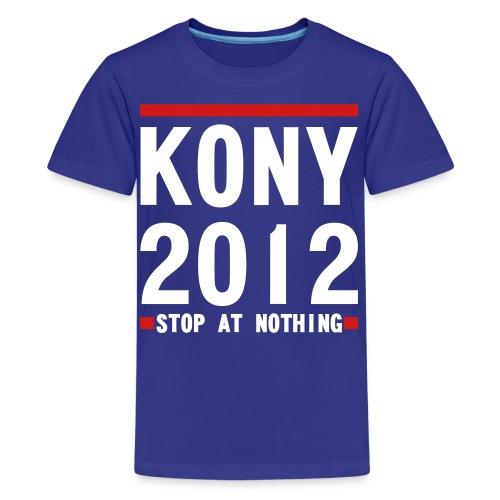 KONY 2012 Stop at Nothing KID'S T-SHIRT - Kids' Premium T-Shirt