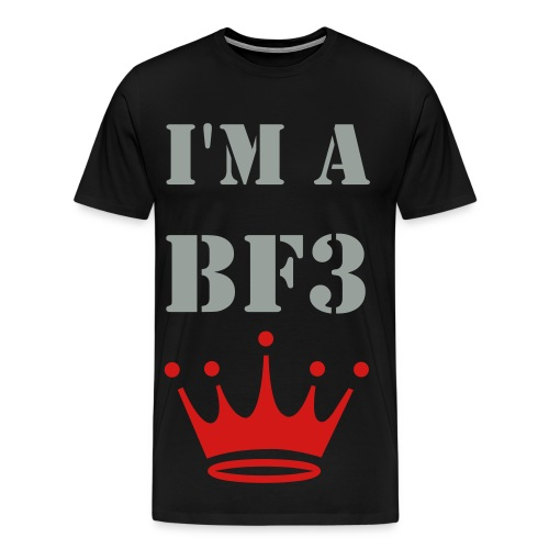 i'm a battlefield 3 king - Men's Premium T-Shirt