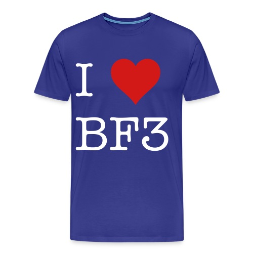 i love battlefield 3 - Men's Premium T-Shirt