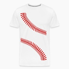 baseball seams T-Shirts