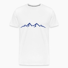Mountains, Mountain, Nature T-Shirts