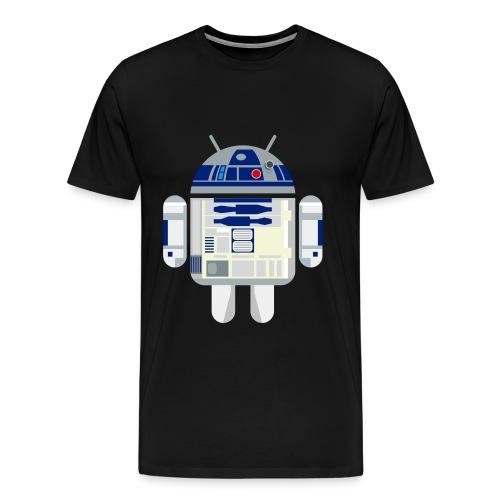 R2D2 Android - Men's Premium T-Shirt