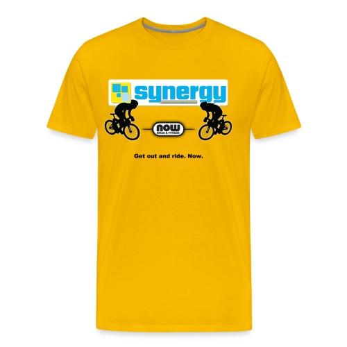 Tour Yellow Synergy - Men's Premium T-Shirt