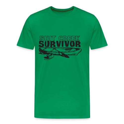Shit Creek Survivor - Men's Premium T-Shirt