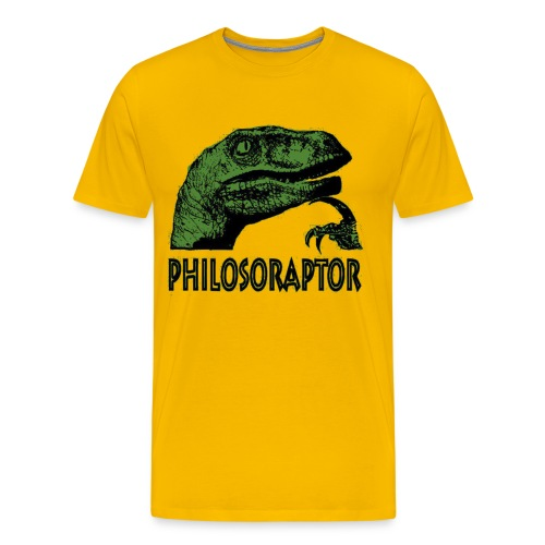 Philosoraptor - Men's Premium T-Shirt