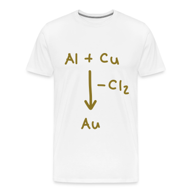 Alchemy, how to make gold T-Shirts