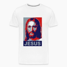 Jesus / Obama Styled Vector Design T-Shirts