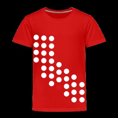 Los Ageles California Dots Toddler Shirts