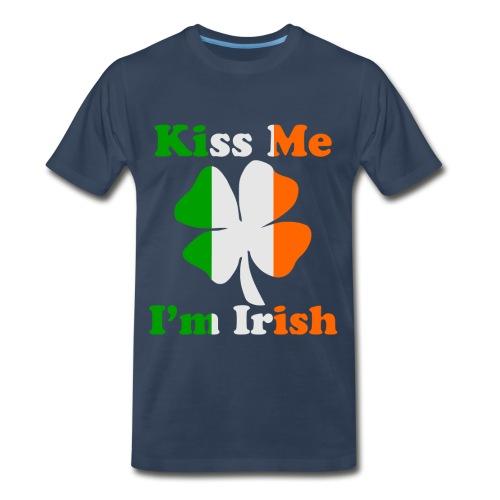 Kiss Me I'm Irish T-Shirt - Men's Premium T-Shirt