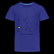 Kids' Shirts ~ Kids' Premium T-Shirt ~ T-Rex Tether Ball (Kids)