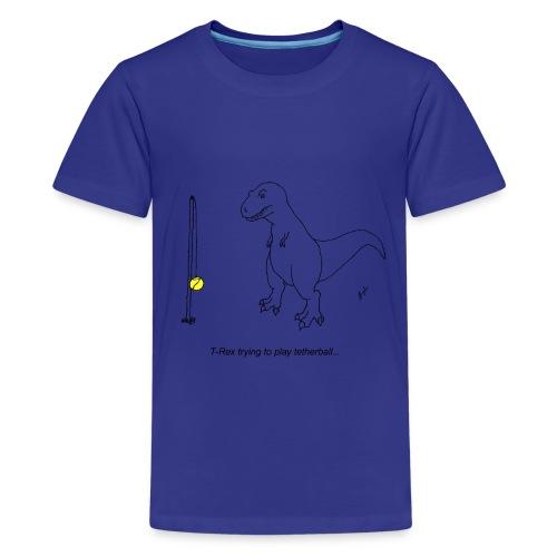 T-Rex Tether Ball (Kids) - Kids' Premium T-Shirt