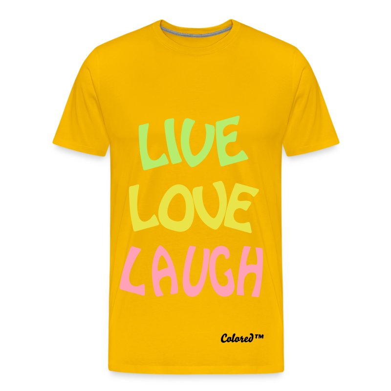 Live Love Laugh - Men's Premium T-Shirt
