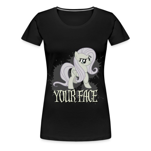 Your Face - Women's Premium T-Shirt
