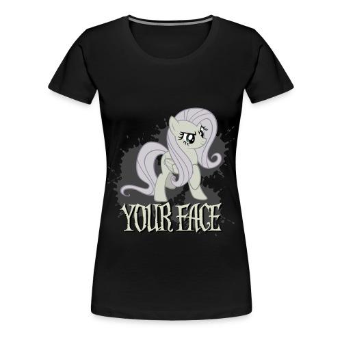 Your Face - Women's Premium T-Shirt