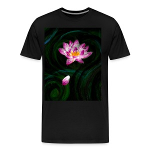 Lotus Heavyweight Shirt - Men's Premium T-Shirt