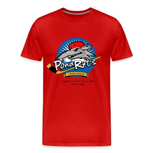 Pondrats Legends on Men's Heavy Weight  - Men's Premium T-Shirt
