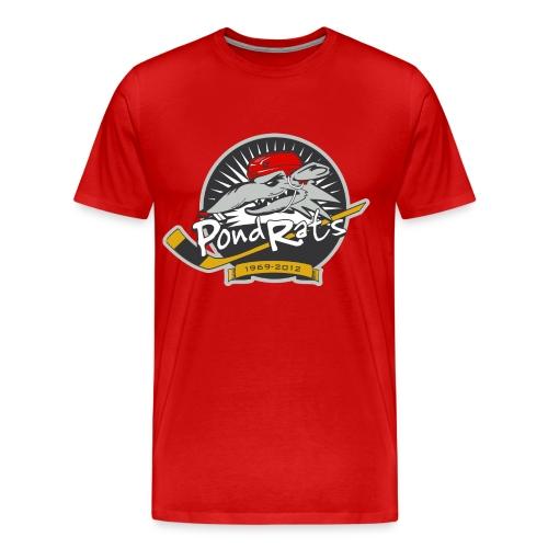 Red Rat Men's Heavy Weight T - Men's Premium T-Shirt
