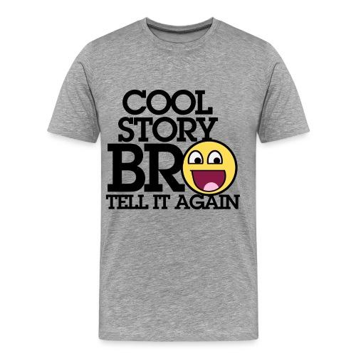 cool story bro shirt - Men's Premium T-Shirt
