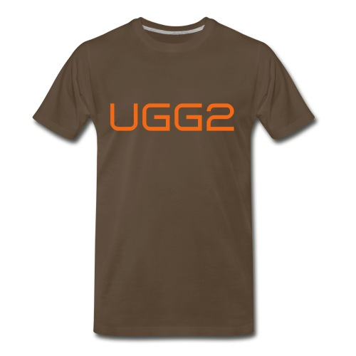UGG2 V.2 Brown  - Men's Premium T-Shirt