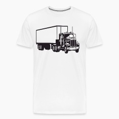 Big Truck HD Design T-Shirts