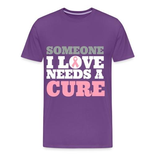 Fight Breast Cancer - Men's Premium T-Shirt