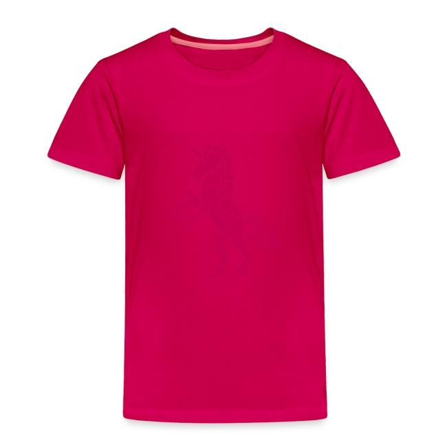 Robicorn Dark Pink on Pink