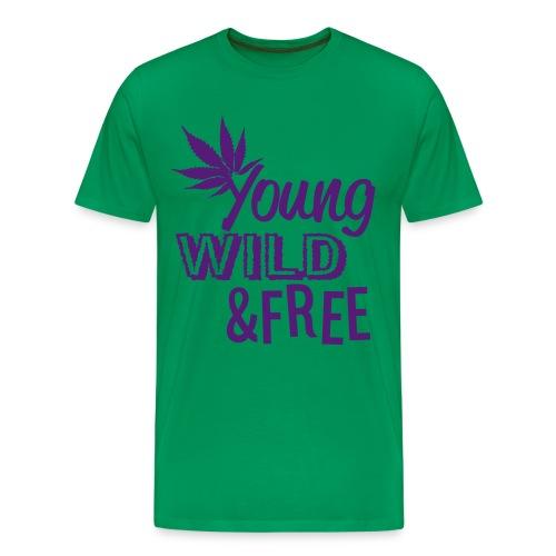 TGOD - Young, Wild'n Free - Men's Premium T-Shirt