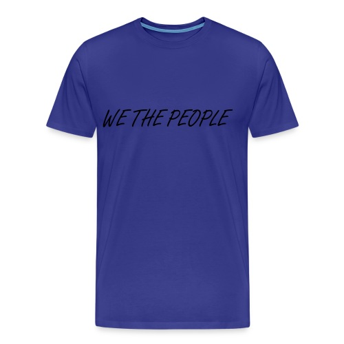 WE THE PEOPLE 1  - Men's Premium T-Shirt
