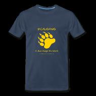 T-Shirts ~ Men's Premium T-Shirt ~ CalGang A Man Keeps His Word