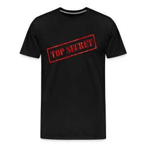 Top Secret Logo - Men's Premium T-Shirt