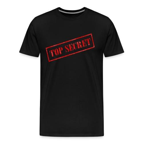 Top Secret Logo - Men's Premium T-Shirt