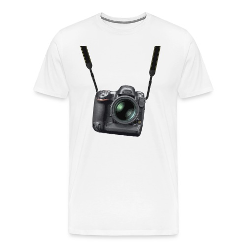 Digital camera strap - Men's Premium T-Shirt