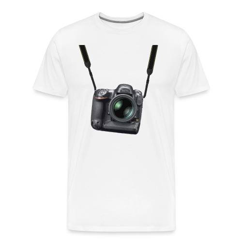 Digital camera strap - Men's Premium T-Shirt