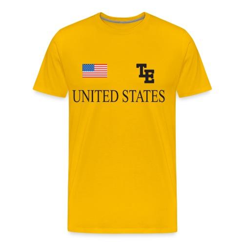 DJ Teddy Eddy United States T-shirt - Men's Premium T-Shirt