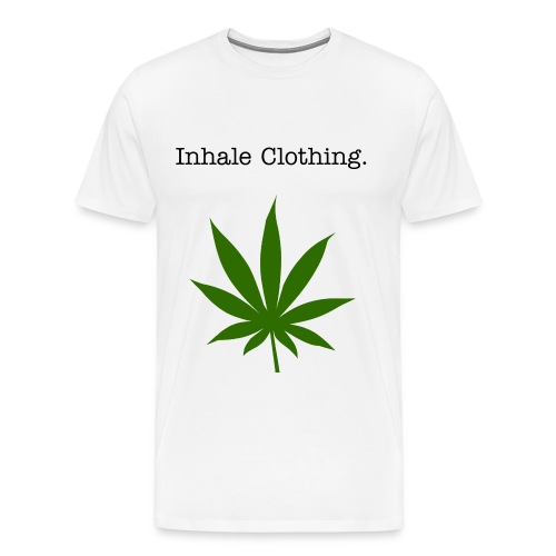 Inhale Weed Shirt - Men's Premium T-Shirt