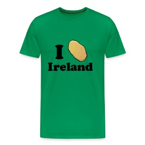 I Potato Ireland - Men's Premium T-Shirt
