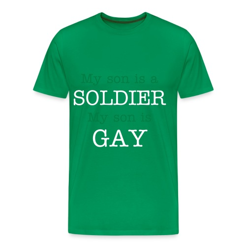 Men's Premium T-Shirt - For all the parents out there and all the homosexuals who came out, stay strong!