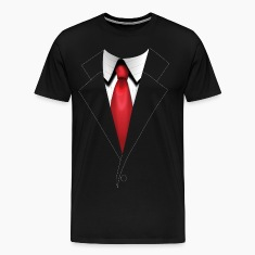 Agent 47's Hitman Suit - Plain - Men's
