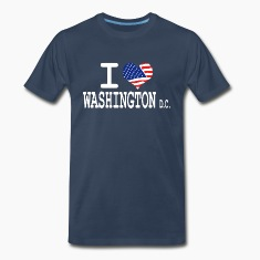 i love washington dc T-Shirts