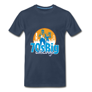 T-Shirts ~ Men's Premium T-Shirt ~ 70's Big Chicago shirt