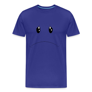 Sad Face Tee - Men's Premium T-Shirt