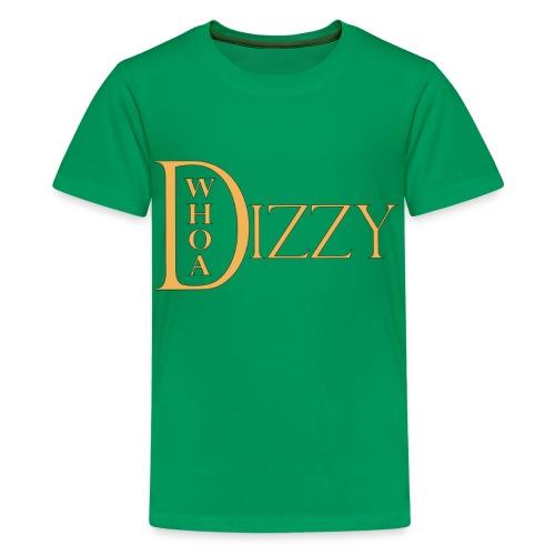 wd_dizzy_logo_gold_2006 - Kids' Premium T-Shirt