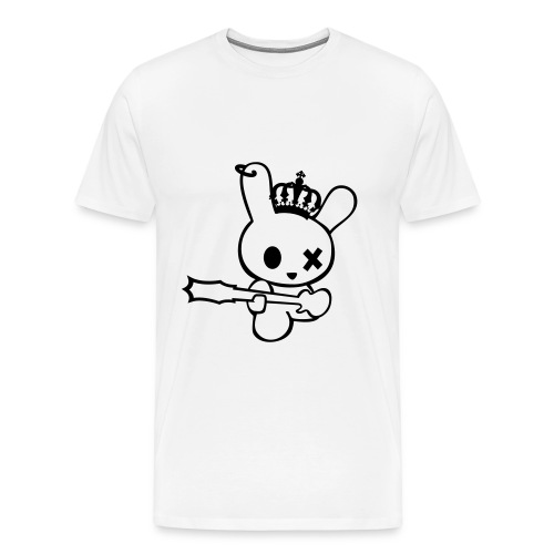 rock bunny  - Men's Premium T-Shirt