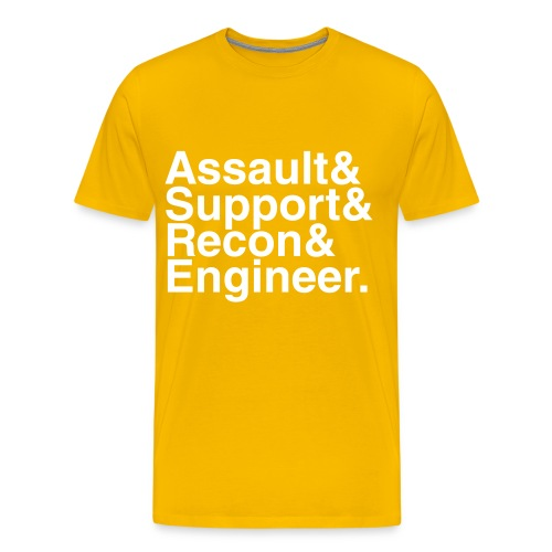 Battlefield 3 kits - Men's Premium T-Shirt