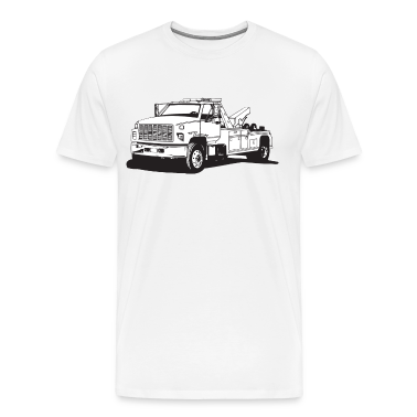 Tow Truck HD Design T-Shirts