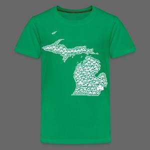 Michigan Shamrocks - Kids' Premium T-Shirt