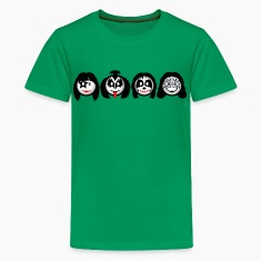 Smile Rock - Smiley Icons (dd print) Kids' Shirts